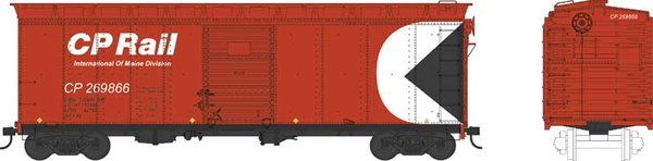 Bowser Ho Scale CP Rail 40ft Boxcar *Pre-order*