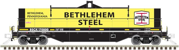 Atlas Ho Scale 42' Coil Steel Cars Bethlehem Steel