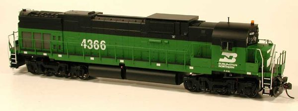 Bowser HO Scale C636 Burlington Northern W/Loksound & Snow Shields *Pre-order*