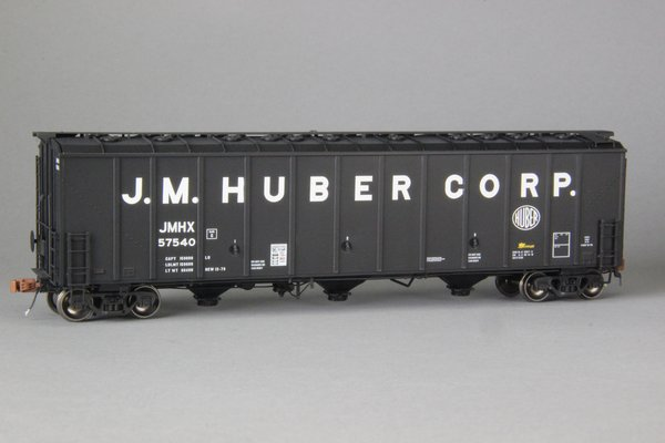 "Ho Scale Scaletrains Rivet CounterJM Huber/JHMX Thrall 5750 ""1980's Version"" Carbon Black Hoppers"