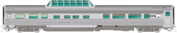Rapido Ho Scale Budd Mid Train Dome Cars Canadian National *Pre-Order*