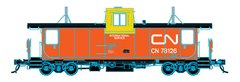 Trueline Trains Ho Scale Point St Charles Caboose CN International Service