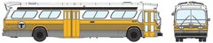 Ho Scale Rapido Boston MBTA GMC Bus Standard Edition *Pre-Order*