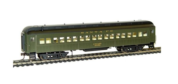 Rivarossi Coach 60FT - Santa Fe - Car #3370