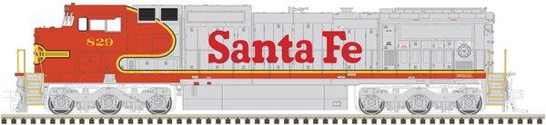 Atlas Ho Scale Dash8-40CW Santa Fe DCC W/Sound *Pre-Order*