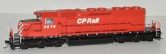Bowser (2nd Release) Ho Scale CP Rail No Multi Mark SD40-2 DCC & Sound W/Ditchlights