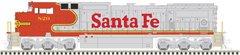 Atlas Ho Scale Dash8-40CW Santa Fe DCC Ready *Pre-Order*