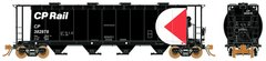 Rapido Ho Scale 3800 Cu. Ft. Cylindrical hopper CP Multimark Late 6 Packs *Pre-order*