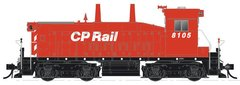 Rapido Ho Scale Canadian Pacific SW1200RS Undecorated W/ Ditchlights DCC & Sound *Pre-Order*