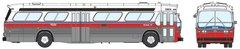 Ho Scale Rapido BC Transit GMC Bus Standard Edition *Pre*Order*