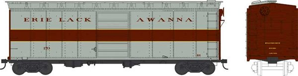 Bowser Ho Scale Erie Lackawanna 40ft Boxcar *Pre-order*