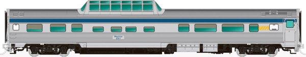 Rapido Ho Scale Budd Mid Train Dome Cars Via *Pre-Order*