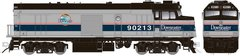 "Rapido Ho Scale Amtrak ""Cabbage"" NPCU Ph. IV ""Downeaster W/Lok Sound& Ditchlights *Pre-Order*"