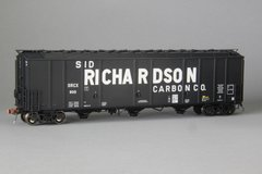 "Ho Scale Scaletrains Rivet Counter Sid Richardson/SRCX Thrall 5750 ""1970's Version"" Carbon Black Hoppers"