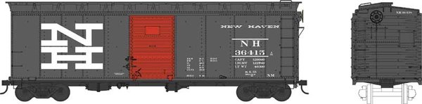 Bowser Ho Scale New Haven 40ft Boxcar *Pre-order*