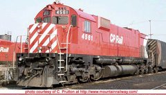 "Bowser Ho Scale M630 CP Rail 8"" Stripe W/ Water Tank & Ditchlights DCC & Sound *Pre-order*"