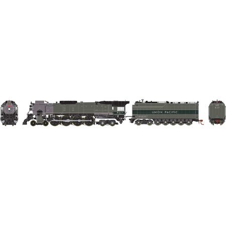 Athearn Genesis HO FEF-2 4-8-4 DCC Ready, UP #827 *Pre-Order*