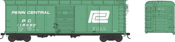 Bowser Ho Scale Penn Central 40ft Boxcar *Pre-order*