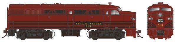 Rapido Ho Scale FA-2 Lehigh Valley DCC W/Sound