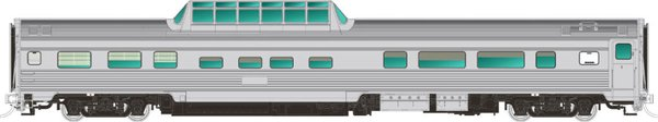Rapido Ho Scale Budd Mid Train Dome Cars Undecorated *Pre-Order*