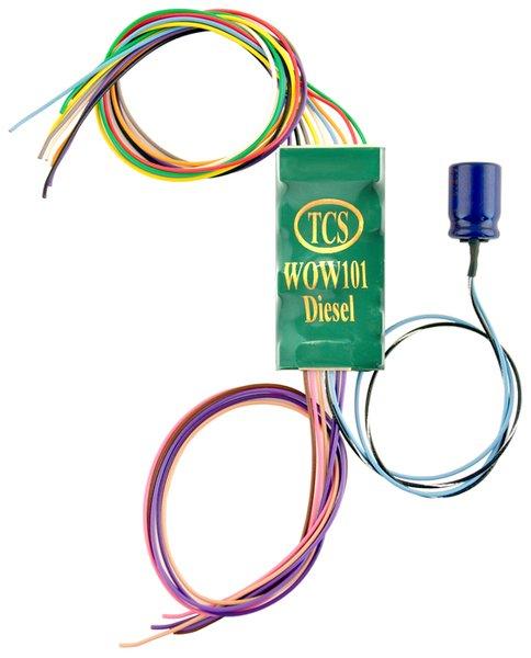 TCS WOW101 Sound EMD/GE Decoder