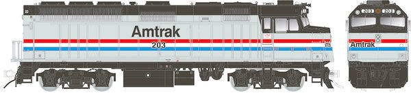 Rapido Ho Scale Amtrak F40PH Ph. III W/Lok Sound& Ditchlights *Pre-Order*