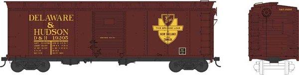 Bowser Ho Scale Delaware & Hudson 40ft Boxcar *Pre-order*