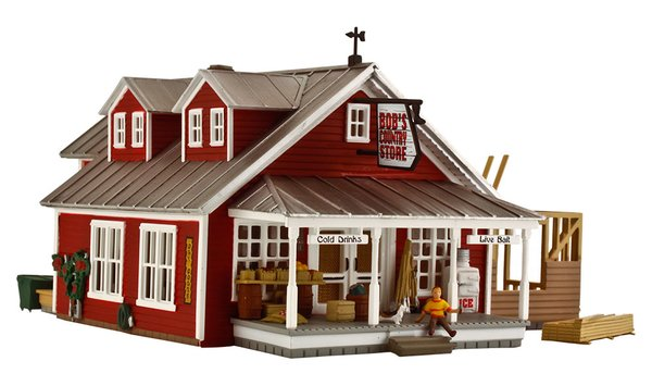 Woodland Scenics HO Scale Built & Ready Country Store Expansion