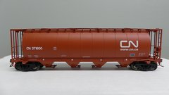 Rapido Ho Scale 3800 Cu. Ft. Cylindrical hopper CN Mineral Brown 6 Pack