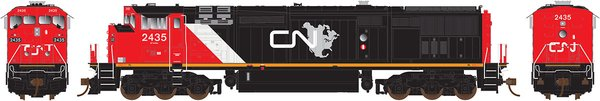 Rapido Ho Scale Dash8-40CM Canadian National North America DCC W/Sound