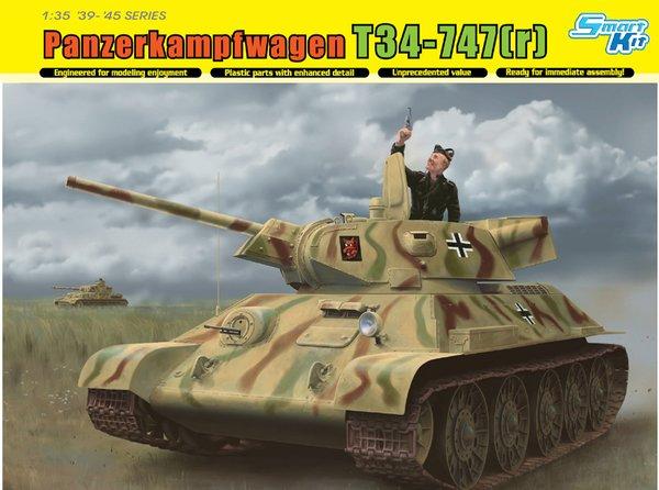 Dragon 1:35 T-34-747 STZ. Mod. 1942
