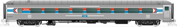 Rapido Ho Scale 72-Seat Coach – Amtrak (no skirts) *Pre-order*
