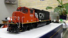 Athearn Genesis Ho Scale CN GP 40-2L DCC & Sound *Special Order*