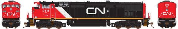 Rapido Ho Scale Dash8-40CM CN (No Stripes) DCC W/Sound