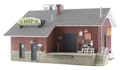Woodland Scenics HO Scale Built & Ready Chip's Ice House