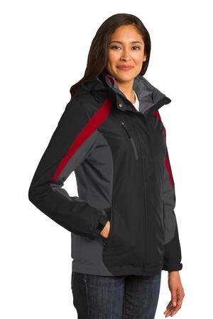Port Authority® Ladies Colorblock 3-in-1 Jacket