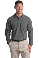Port Authority® Long Sleeve EZCotton™ Pique Polo