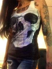 Women's Skull Tank
