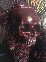 Sold Gothic, Skull Sconce Set