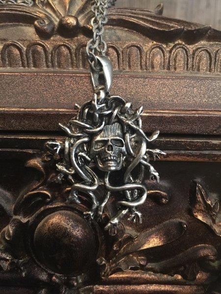 Medusa Skull Necklace