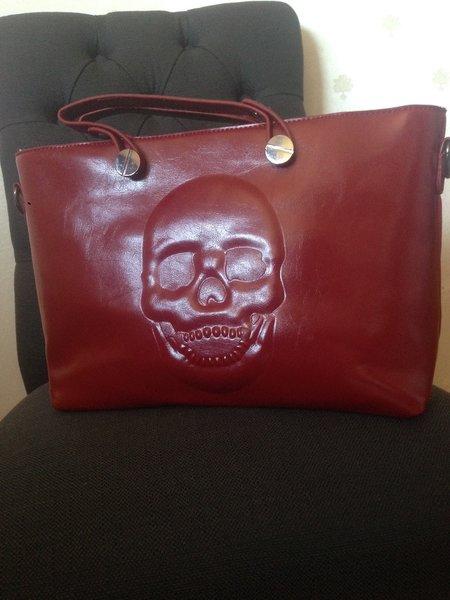 Skull Shoulder Bag