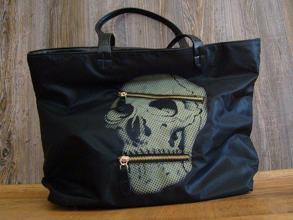 Large Skull Hobo Bag