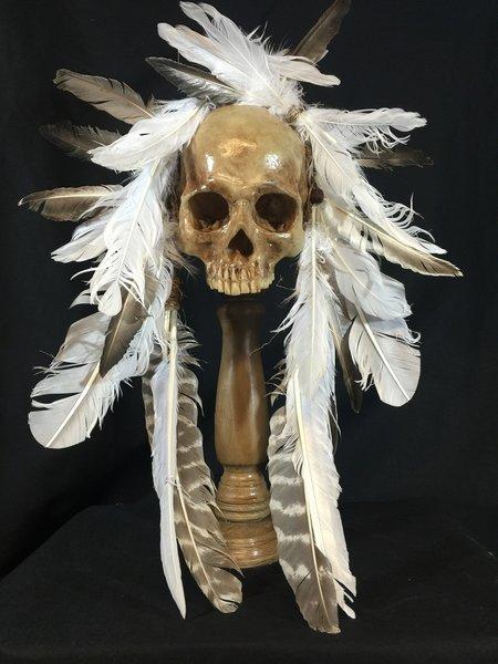 Sold Replica Headhunter Skull