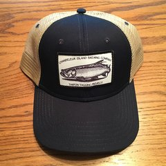 Hat - Tarpon Tagging Project Black With Tan Mesh