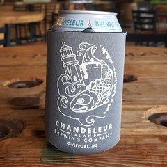 Chandeleur Island Brewing Company Gray Koozie