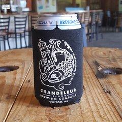Chandeleur Island Brewing Company Logo Koozie