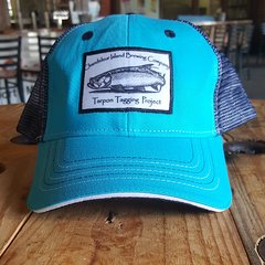 Chandeleur Island Brewing Company Tarpon Tagging Project Light Blue/Navy Hat