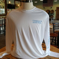 Chandeleur Island Brewing Company Long Sleeve White Shirt