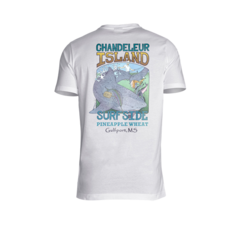 Chandeleur Island Surfside Can Art Tee