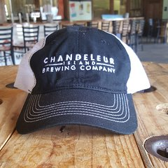 Chandeleur Island Brewing Company Navy/White Relaxed Hat